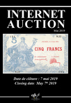 Internet Auction Banknotes May 2019